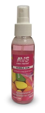 Ароматизатор-нейтрализатор запаховAVS AFS-003 Stop Smell (аром.BubbleGum/Бабл гам)(спрей100мл.) - фото 23377