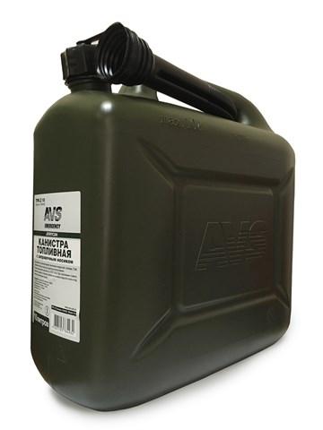 Канистра для бензина пластик 10л AVS TPK-Z-10 - фото 23474