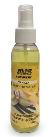 Ароматизатор-нейтрализатор запаховAVS AFS-001 Stop Smell (аром.Vanilla/ Ваниль)(спрей100 мл.) - фото 23755