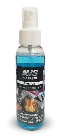 Ароматизатор-нейтрализатор запаховAVS AFS-009 Stop Smell (аром.Fire Ice/Огненный лёд) (спрей 100мл.) - фото 23757