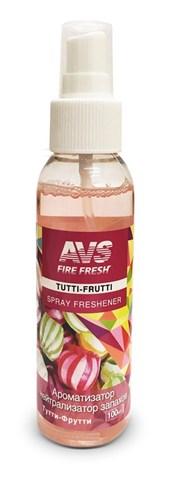 Ароматизатор-нейтрализатор запаховAVS AFS-012Stop Smell(аром.Tutti-frutti/Тутти-Фрутти)(спрей100мл.) - фото 23758