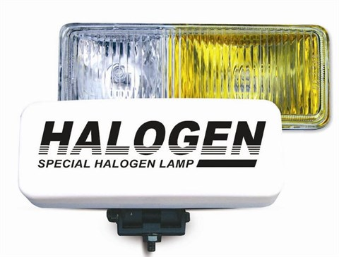 Противотуманные фары галогенные (H3) PF-116H (белый-желтый), 12V 55A H3 - фото 24212