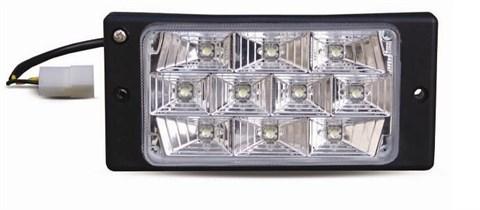 Противотуманные фары светодиодные (10LED) PF-174L (12V 55A H3 LADA 2110-2112) 2шт  белый - фото 24219