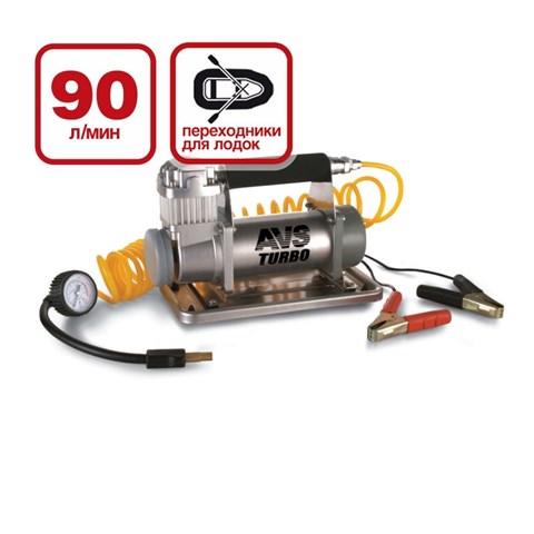 Компрессор автомобильный Turbo AVS KS 900 - фото 24713
