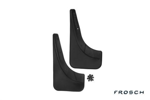 Брызговики задние Fiat Grande Punto 2005-2018 Novline-Autofamily - фото 24941