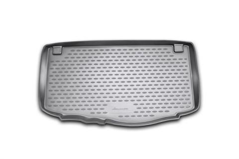 Коврик в багажник Kia Picanto 2011-2018 Novline-Autofamily - фото 26388