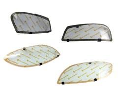 Защита фар Honda Jazz 2001-2007 СА Пластик