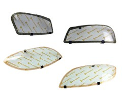 Защита фар Nissan Avenir PNW11,RW11, SW11 1998-2003 СА Пластик