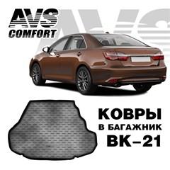 Ковёр в багажник 3D Toyota Camry VII (XV50) (2011-)  (компл. Престиж, Люкс)AVS BK-21