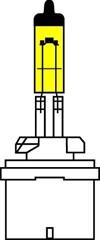 Лампа автомобильная галогенная AVS Atlas Anti-fog H27/1 12V 27W 2шт.
