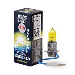 Лампа автомобильная галогенная AVS Atlas Anti-fog Н3 12V 55W 1шт.
