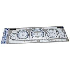 Накладка на панель приборов ГАЗель, Соболь старого образца Евро-2 белая