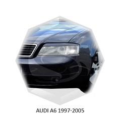 Реснички на фары Audi A6 C5 1997 – 2004 Carl Steelman