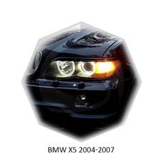 Реснички на фары BMW X5 E53 рестайл 2003 – 2006 Carl Steelman