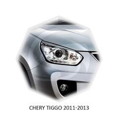 Реснички на фары Chery Tiggo (T11) 2005 – 2013 Carl Steelman
