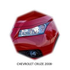 Реснички на фары Chevrolet Cruze 2009 – 2015 Carl Steelman