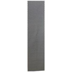 Сетка алюминиевая в бампер 100х25 см соты черная